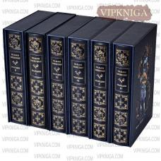 У. Шекспир. Трагедии  (в 6 томах). Кожаный переплёт + футляр