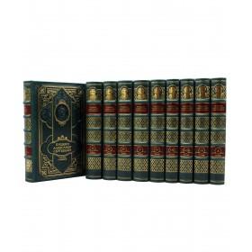 Пушкин А.С. Подарочное издание в кожаном переплете в 10-ти томах