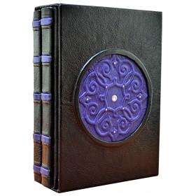 Издание «Подарочный 2-х томник Мудрости» в кожаном переплете с объемными узорами ручного тиснения
