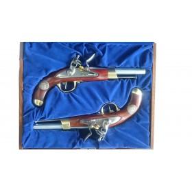Подарочный набор пистолетов. Коллекционное оружие