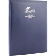Папка для документов без прошивки с логотипом ФВСР